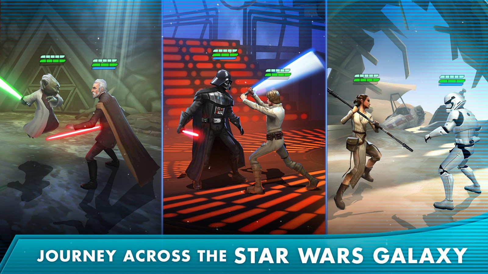"Star Warsâ""¢: Galaxy of Heroes  Poster"