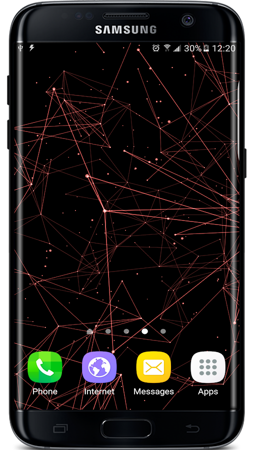 Particle Plexus Live Wallpaper Screenshot 1