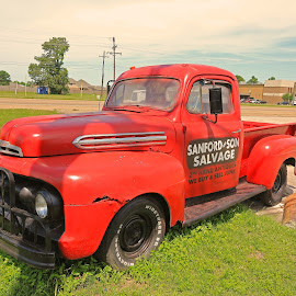 Antique Truck by Ron Olivier - Transportation Other ( antique truck )