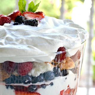Raspberry Trifle Angel Food Cake Recipes
