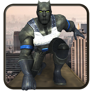 Download Flying Superhero Panther Assault Rescue Mission 3D For PC Windows and Mac