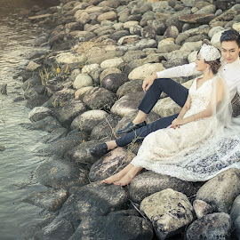 Touch Of Love by Adzen Jazz - Wedding Bride & Groom ( wedding photography, wedding, pre wedding, lovely, malaysia )