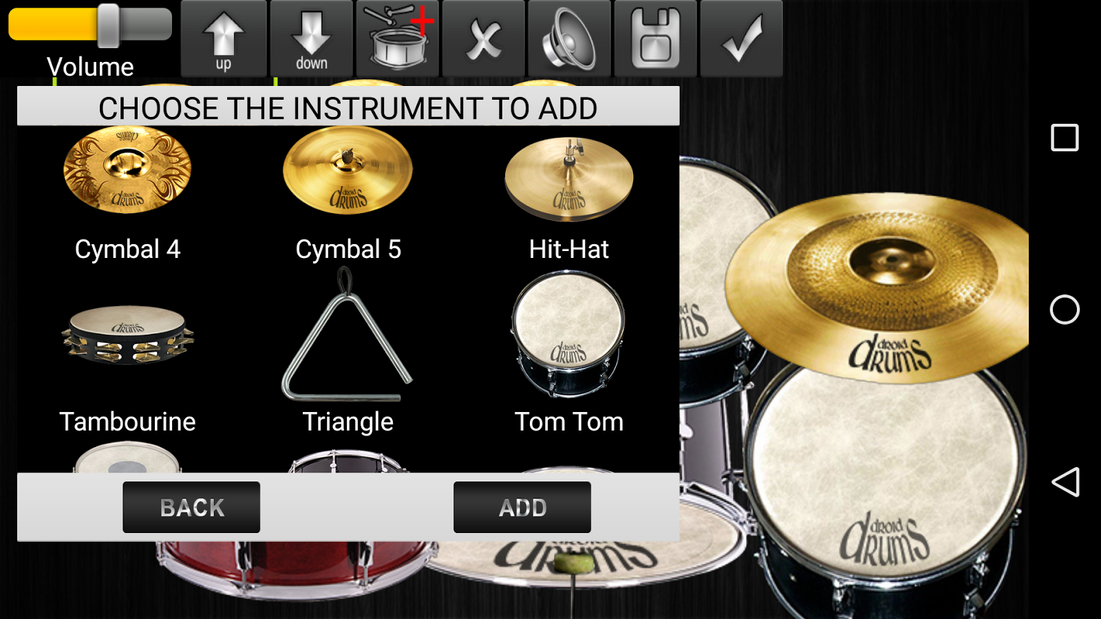 Drums Droid HD 2016 Screenshot 4
