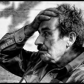 What now ? by Zoran Nikolic - People Portraits of Men
