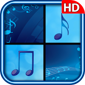 Piano Tap Blue : Music Tiles