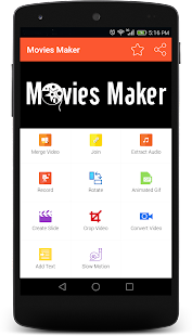 Movie Maker - screenshot