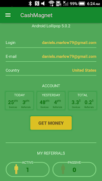 CashMagnet - Earn Money & Gift Card APK screenshot thumbnail 2