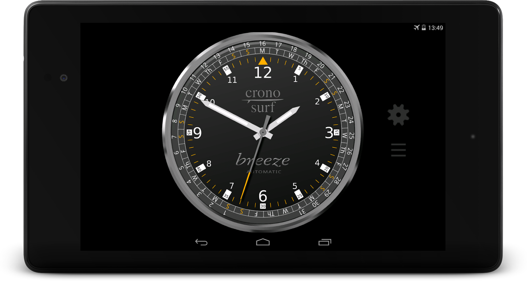 Cronosurf Breeze & Air Pro Screenshot 10