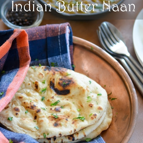 Homemade Indian Butter Naan