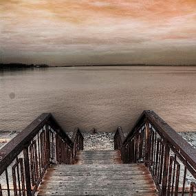 Dark sea by Димитър Чобанов - Landscapes Weather