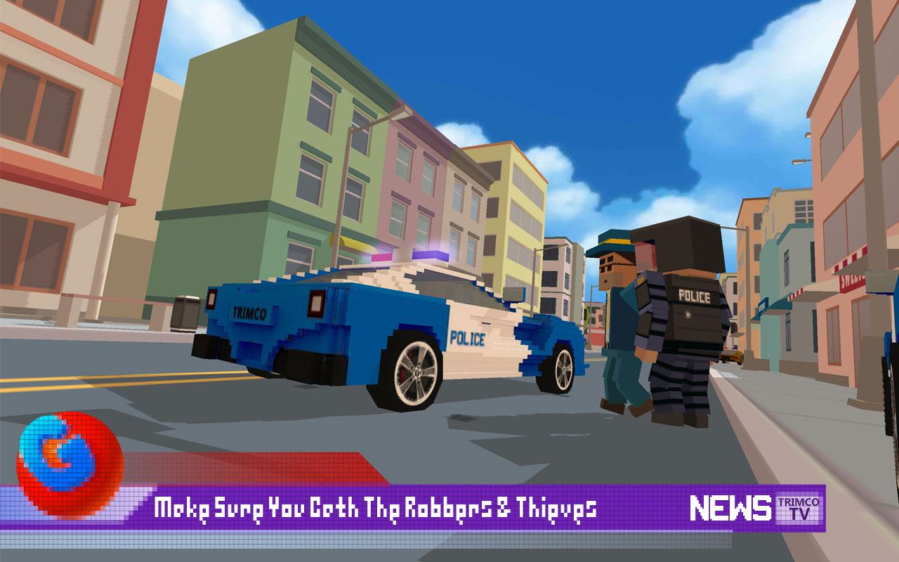 Blocky City: Ultimate Police 2 Screenshot 1
