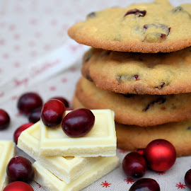Cranberry and white chocolate cookies by Heather Aplin - Food & Drink Cooking & Baking