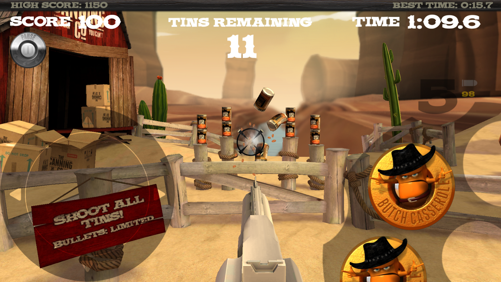 Far Tin Bandits Screenshot 0