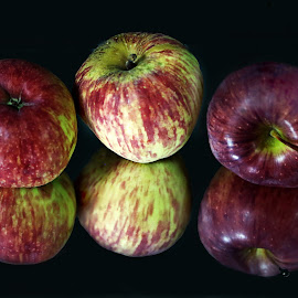 Happy Apples by Arvind Akki - Food & Drink Fruits & Vegetables