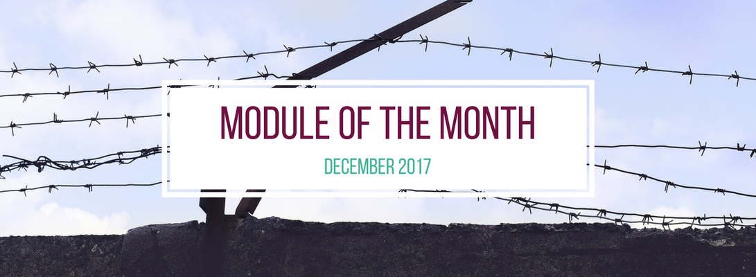Module of the Month - December