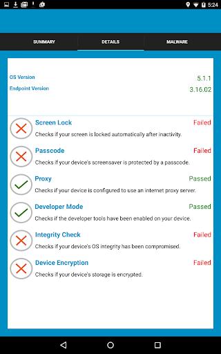 Trustwave Mobile Security - screenshot