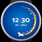 Unicorn Wear - Wear OS watch face Icon