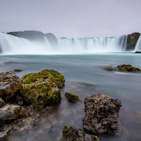 Goðafoss by Páll Jökull Pétursson - Landscapes Waterscapes ( nordic, phototour, europe, 2015, waterfall, northern europe, landscape, photo, photography, iceland, traveling, goðafoss, land of ice and fire, skjálfandafljót, north iceland, summer, norðurland, photoguide, ísland, palljokull )