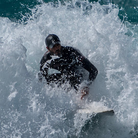 Surfing by Roar Folland - Sports & Fitness Watersports ( surfing cyprus waves sea )