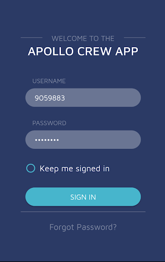 The Apollo Group - CrewApp screenshot 1
