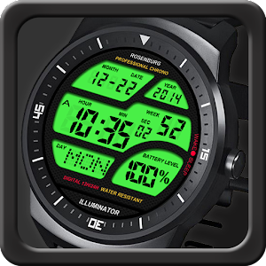 A41 WatchFace for Round Wear
