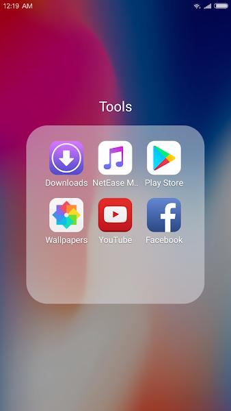 X Launcher Pro: PhoneX Theme, IOS Control Center- screenshot