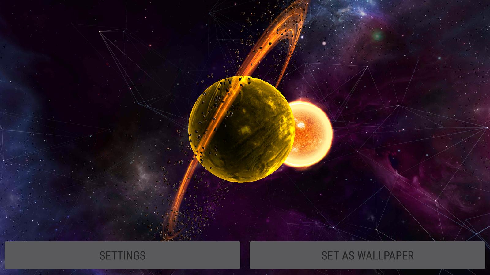 Gyro VFX Planets 3D Live Wallpaper Screenshot 16