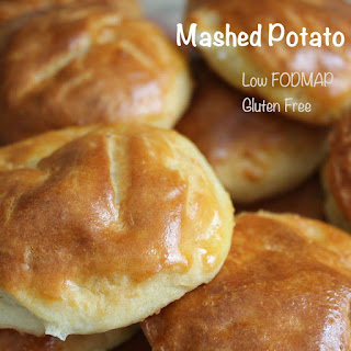 Gluten Free and Low FODMAP Mashed Potato Buns