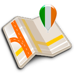 Map of Ireland offline APK Image