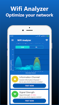 WiFi Analyzer - Network Analyzer APK screenshot thumbnail 2