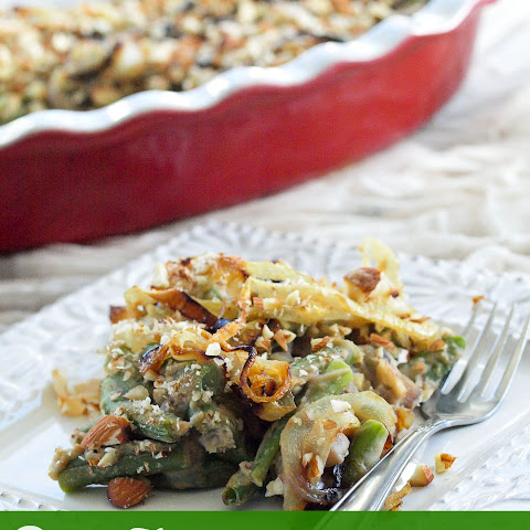 Vegan and Gluten-free Green Bean Casserole