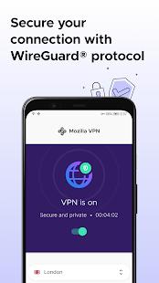 Mozilla VPN - A secure, private and fast VPN