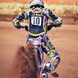 Rrrrrrrrrrr!!!!! by Jiri Cetkovsky - Sports & Fitness Motorsports ( race start, start, speedway, motorcycle, liberec, race )