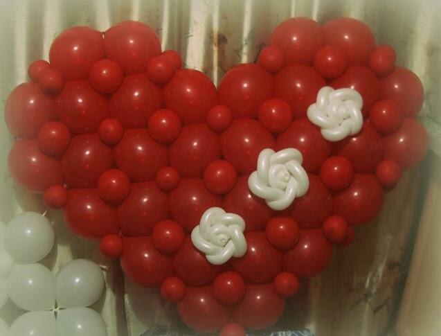 Фото мастер класс сердце из шаров