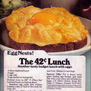 Baked Eggs Nest Recipes