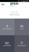 Screenshot of Gruppo BPER - SMART Mobile