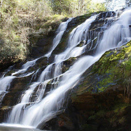 Little Brasstown Falls by Jo Anne Keasler - Novices Only Landscapes