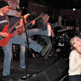 ScatterShot at The Burren by Joanne Kledaras - People Musicians & Entertainers ( the burren, boston area, scattershot, cover band, 80's night,  )