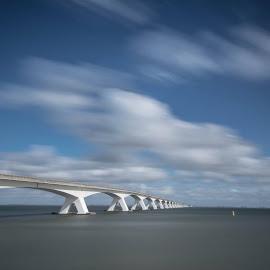zeelandbrug by Kees van Es - Buildings & Architecture Bridges & Suspended Structures