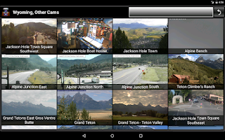 Screenshot of Cameras Wyoming - Traffic cams