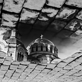 by Estislav Ploshtakov - Black & White Buildings & Architecture