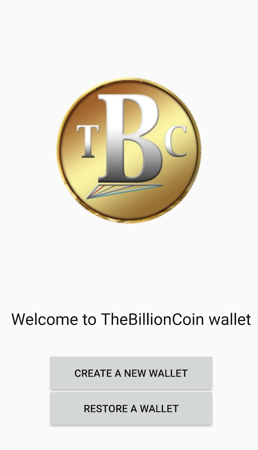 TBC Wallet Screendshot 1