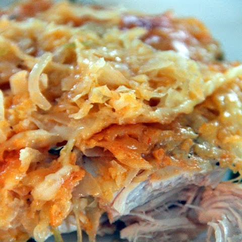 Slow Cooker Reuben-Style Chicken Casserole