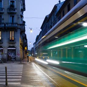 by Eliran Daniel - City,  Street & Park  Street Scenes