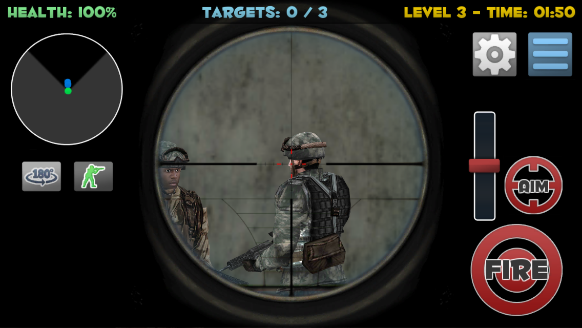 Sniper Commando Assassin 3D Screenshot 10