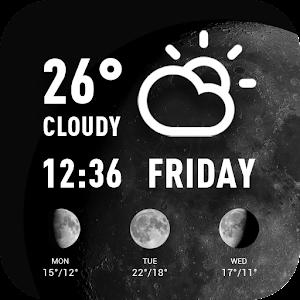 World weather widget& moon phrase information For PC / Windows 7/8/10 / Mac – Free Download