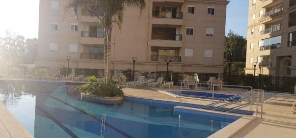 Apartamento com 3 dormitórios à venda, 90 m² por R$ 980.000 - Alphaville Empresarial - Barueri/SP