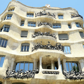 Gaudi Goody by Marty Cutler - Buildings & Architecture Architectural Detail ( architechture, exterior, architectural, architectural detail, architecture )