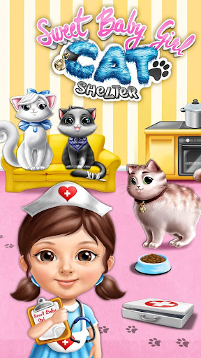 Sweet Baby Girl Cat Shelter For PC