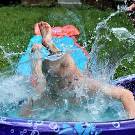 Splish splash by Marsha Grimm - Babies & Children Children Candids ( water, pool, summer )